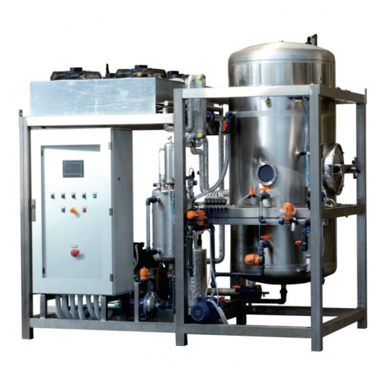 Cryogenic Vacuum Distillation System  -ЭБУМЯ